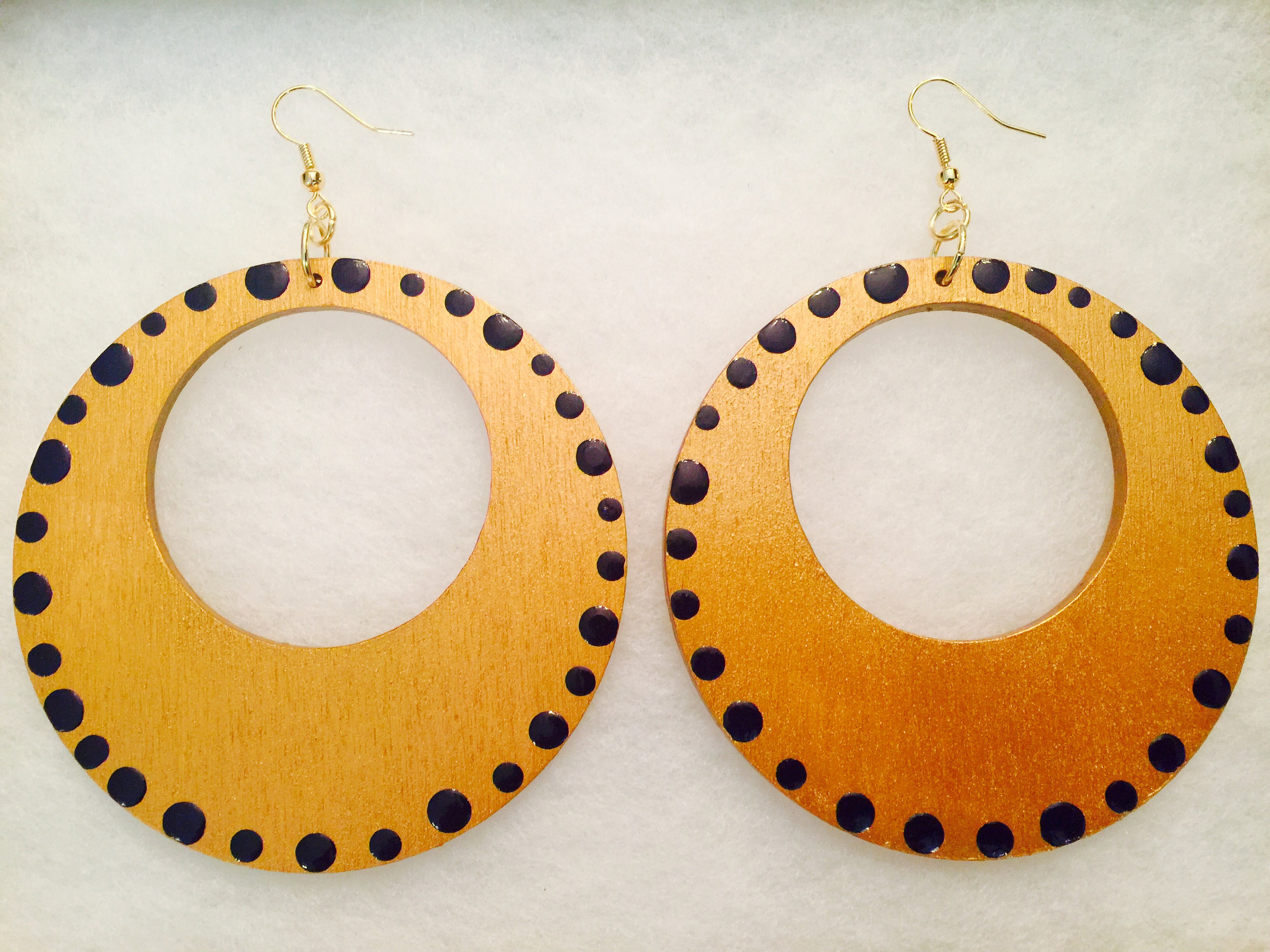 allergenic painted steel earrings hand button listing il surgical fullxfull covered hypo stud fabric